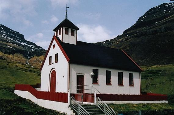 Kirkjan í Árnafirði