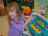 Taya in toyshop