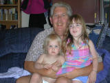Granpa with the girls