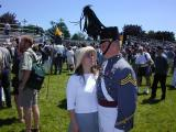 Chris & Leslie after Grad Parade