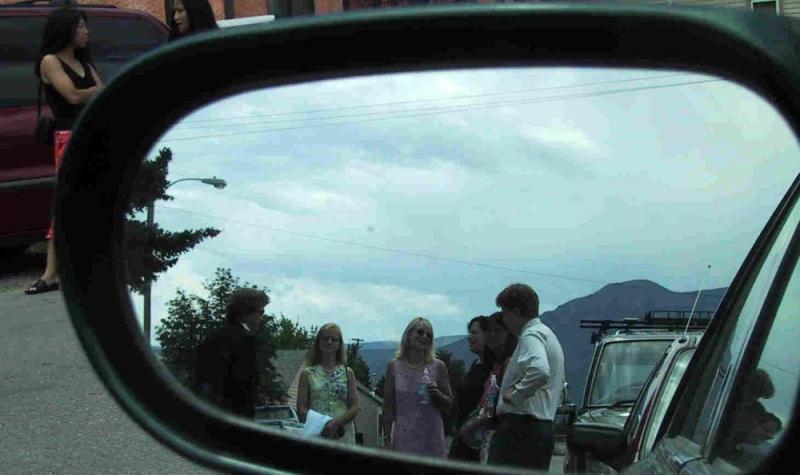 Marie, Kelly, Marty, Sally, Debi, Wendy (Gregs boss), Laura I & Jack before the wedding