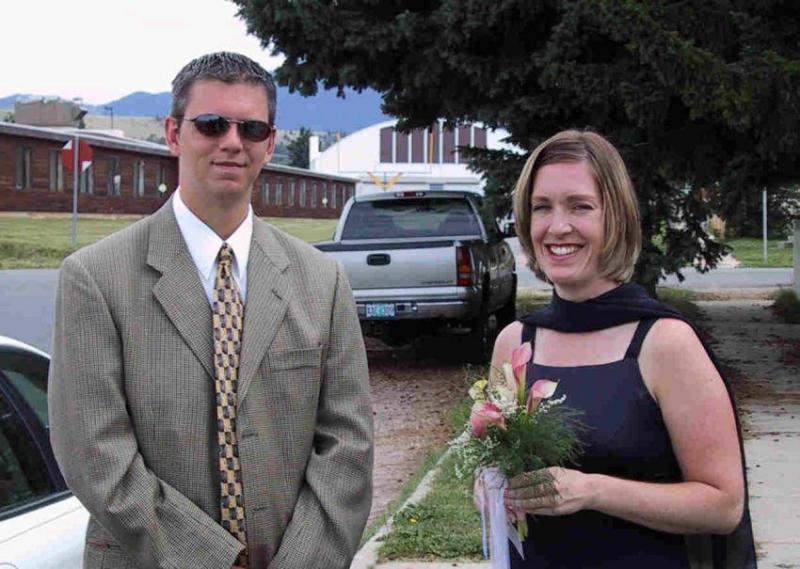 Derek & Amy (LBs sister)