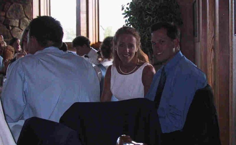 Laura & Greg @ the reception