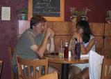 Jack and Laura I @ Bridge Creek Restaurant