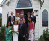 Group Pic outside the church 1