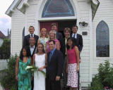 Group Pic outside the church 2