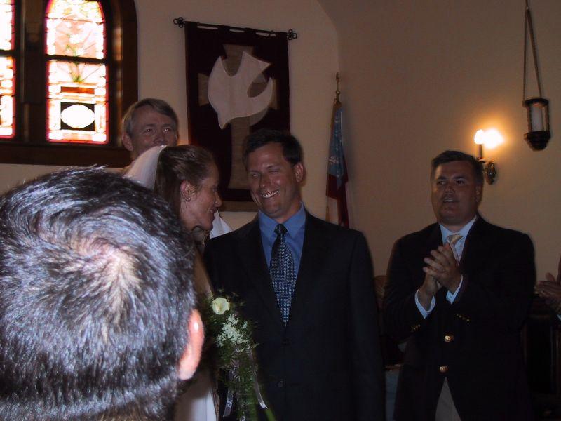 Mrs. & Mr. *Baird* - What the priest said