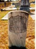 Grave? or Marker? Of Lt. Joseph Williams, Blockhouse Cemetery