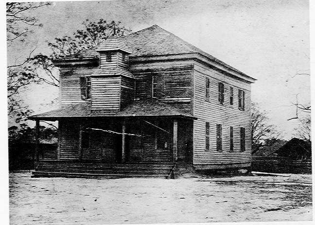 The Old Courthouse At Jacksonville, Ga.