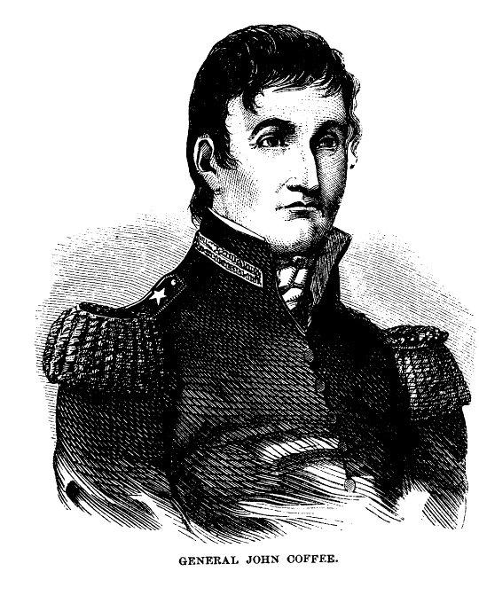 Gen. John R. Coffee Of Tennessee
