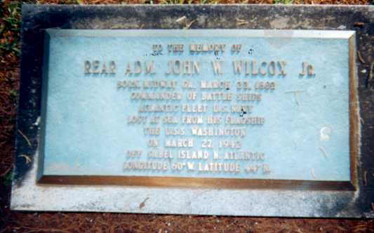 Rear Admiral John Wilcoxs Demise A Mystery