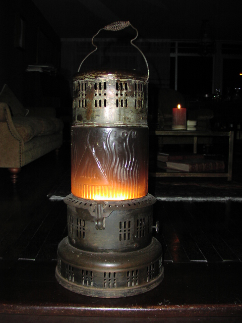 Heater & Candle