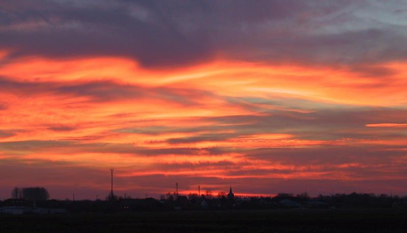 Turnhout - Sky on fire - 1.12.2000
