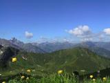 Kleinwalsertal - Blick ins Tal