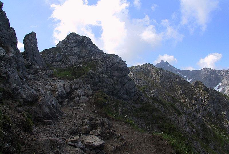 Kleinwalsertal - Richtung Hammerspitze