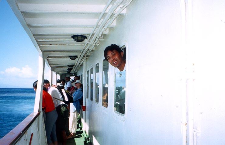 Ferry to Delos