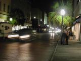 Charleston at night