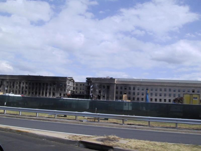 The Pentagon Damaged