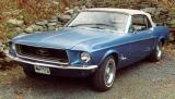 Dad's '68 Mustang Convt.