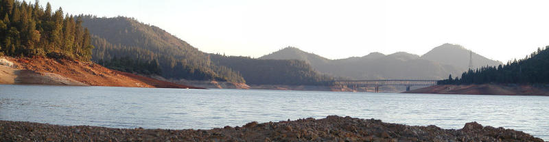 Shasta Lake panorama