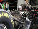 6000 HP funny car engine