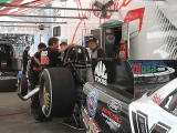 John Force pit crew