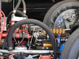 Funny car hydraulics