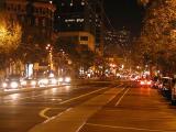 Market Street at night
