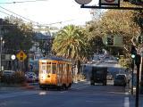 Streetcar at dawn
