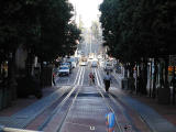Cable car coming