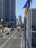 Moscone center crossing