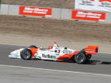 Helio Castroneves on straightaway