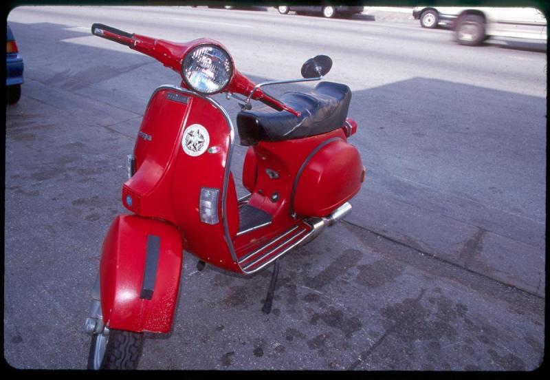 VESPA! Down Town, Austin, TX