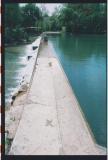 that's Cibolo Creek at River Road Park
