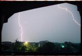 Lightning in North Austin, Texas