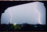 Lightning in Austin, TEXAS
