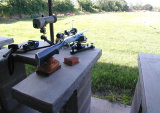 There's a target 200 yards away, can ya see it?