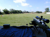 Tom's Rig. Can ya see the target racks now? Only 600 feet away...