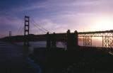 Golden gate bridge From Vertigo Point