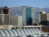 View from Wyndham in Salt lake City