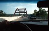 Pennybacker Bridge over Capital Of Texas Highway in Austin, TEXAS