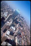 This is actually the John Hancock Tower. It appears to be taken from the Prudential Building. - Yuddo