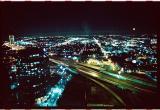 Dallas City Lights from the Adam's Mark in Down Town Dallas