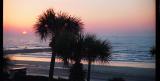Sunrise in Galveston, Texas
