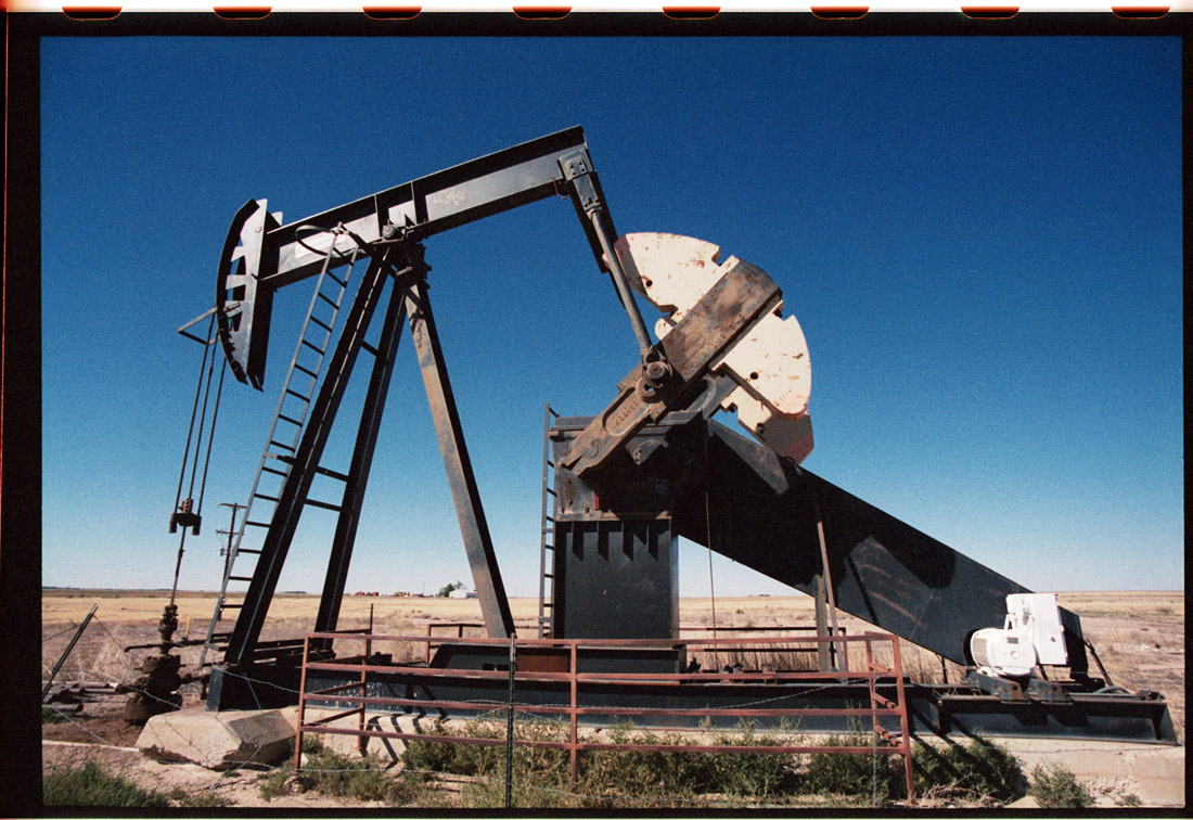 Oil Rig By the NM TX Border