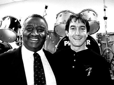 Bernard Purdie and gary Scinnelli