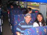 Mauricio & Nela on the Bus