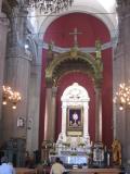 Inside Basilica of Guadelupe