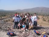 Group Shot on top of Pyramid of Sun