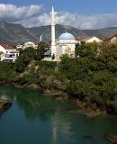 Neretva River and Koski Mehmed Pasha Mosque